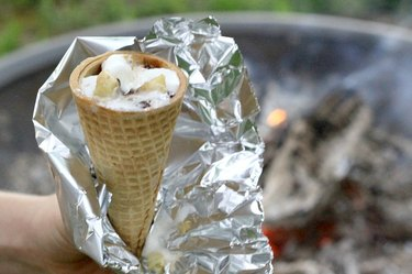 S'mores in a Cone