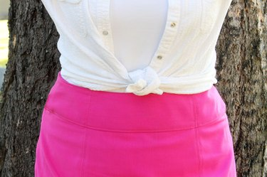 altered skirt