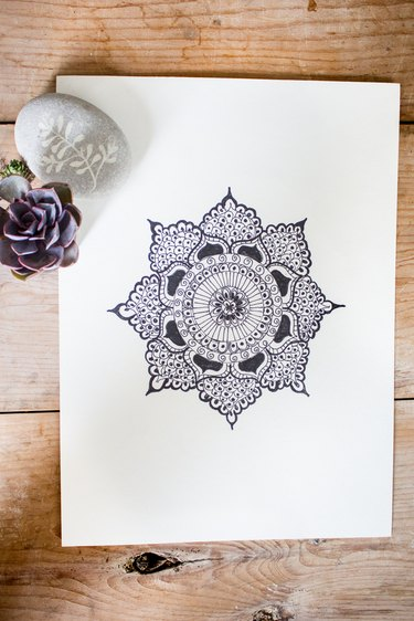 Finished mandala