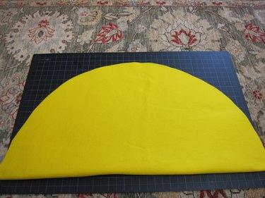 Cut semicircle