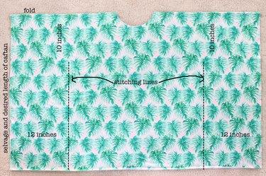 caftan stitching diagram