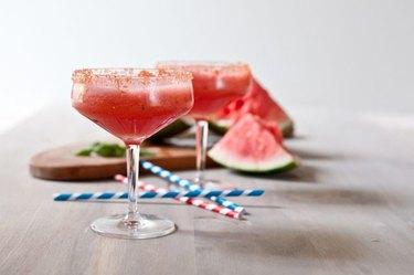 Refreshing Watermelon Mint Beer Cooler