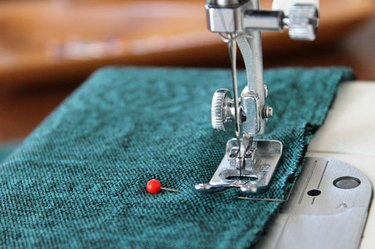 sew center back seam