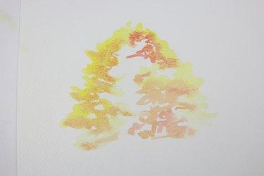 Medium tone of tree