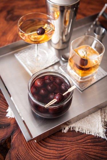 How to Make Brandied Cherries