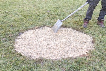 flat transfer shovel