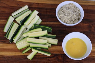 ingredients for zucchini fries