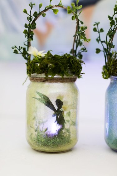 Fairy Lanterns From Old Jars