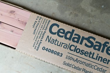Tongue and groove cedar planks.