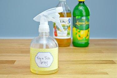 how to make a homemade flea and tick repellent