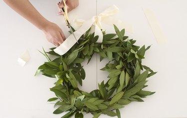 Cut ribbon ends