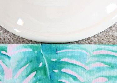 set plate over center mark
