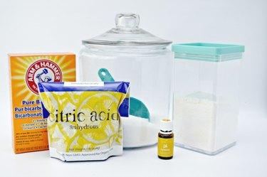 Homemade Powdered Dishwashing Detergent Ingredients