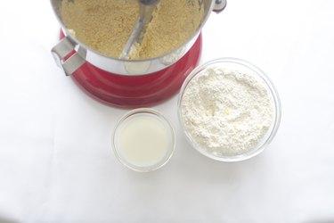 Add flour and milk