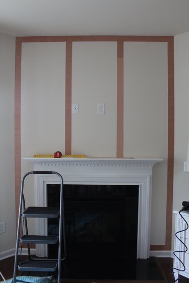 Installing the frame and vertical planks