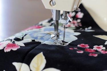 sew an X through both pieces