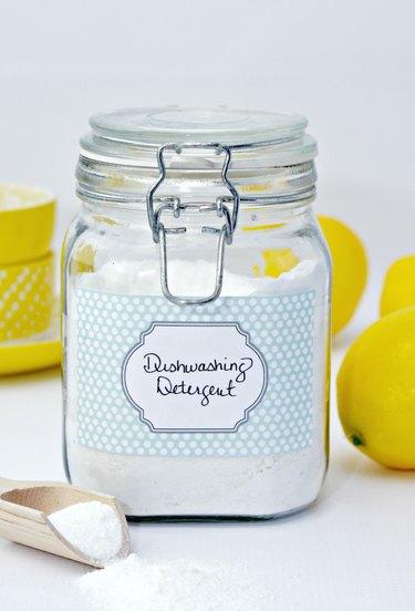 Homemade Powdered Dishwashing Detergent