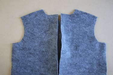 Sew the sleeve into the armhole before sewing the side seams.