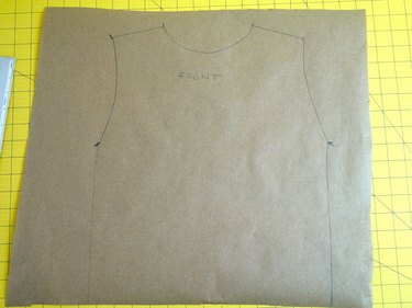 A template drawn from the T-shirt.