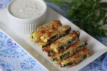 dip with zucchini fries