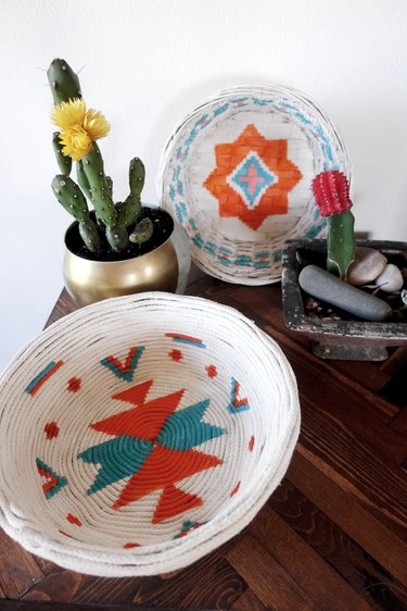 Desert-style Upcycled Baskets