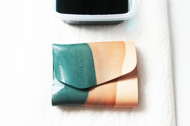 Dip-Dyed Leather Journal