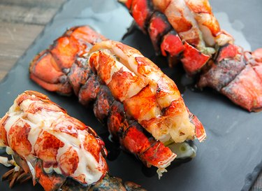 How to cook lobster tails in the oven.