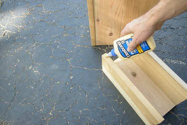 Wood Glue on Side