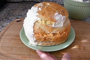 spread the cream cheese