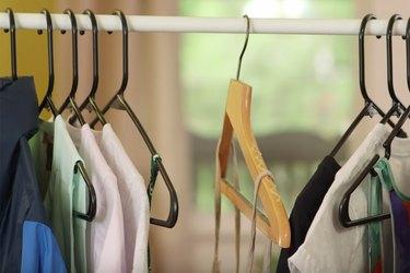 Easy, DIY no-slip hangers