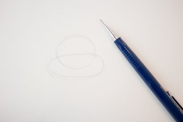 Simple circle and oval