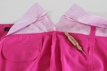 remove waistband side seams