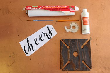 Materials for Cheers
