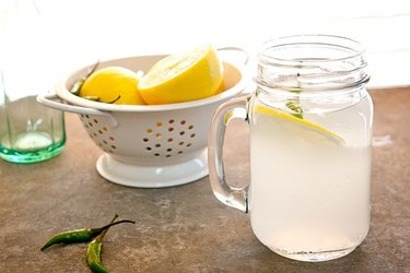Refreshingly Spicy Thai Chili-Infused Coconut Water