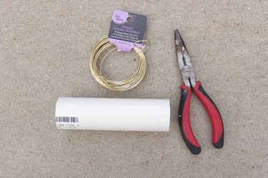 Supplies needed for gold wire napkin rings