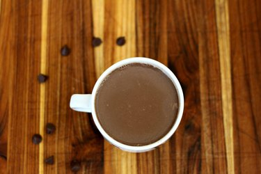 Hot Chocolate Made from Chocolate Chips