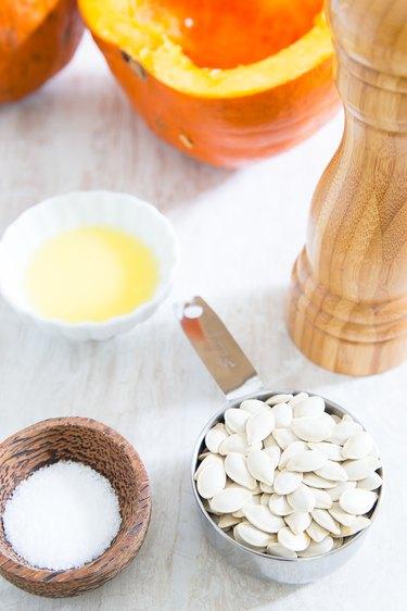 Basic recipe for roasted pumpkin seeds