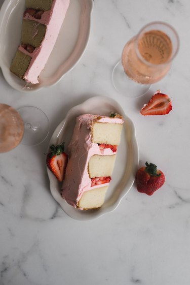 Serve a slice alongside a glass of rosé!