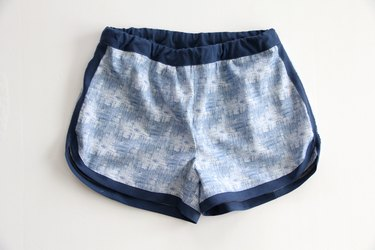 sewing activewear shorts for women