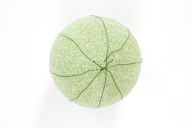 wire foam ball