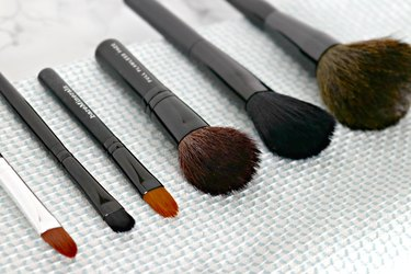 how to clean makeup brushes tutorial