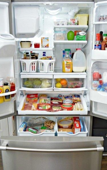 Organize your refrigerator.