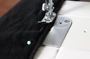 Sew the sleeve.
