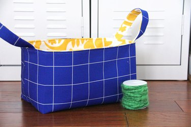 Keep your fabric basket clean