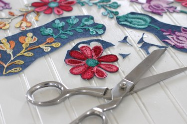 cut out embroidery