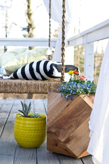 Add color and texture to your deck.