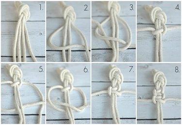 macrame knot instructions