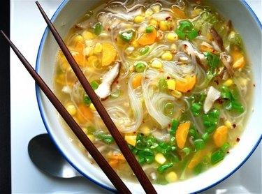 Healthy Ramen Soup