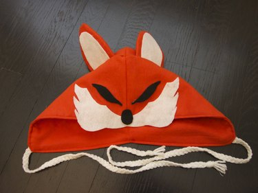 The completed hood.