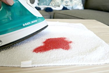 remove candle wax from a coffee table